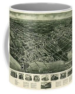 View Of Somers-point, New Jersey, 1925 Coffee Mug