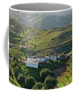 Village Hidden In The Mountains Coffee Mug