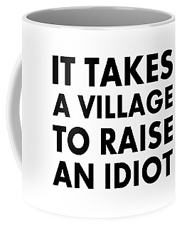 Village Idiot Bk Coffee Mug