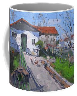 Village In Greece Coffee Mug