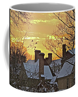 Village Morning Coffee Mug
