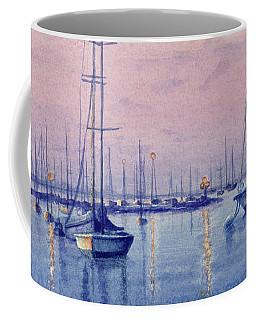 Vineyard Twilight Watercolor Coffee Mug