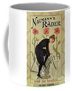 Vintage Bicycle Advertisement Woman Cycling Circa 1905 Coffee Mug