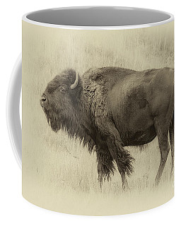 Vintage Bison I Coffee Mug
