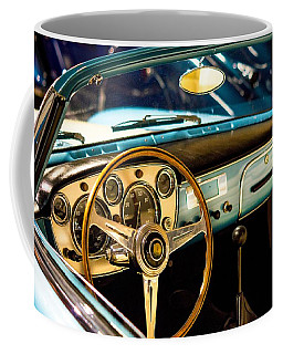 Vintage Blue Car Coffee Mug