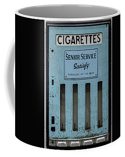 Senior Service Vintage Cigarette Vending Machine Coffee Mug