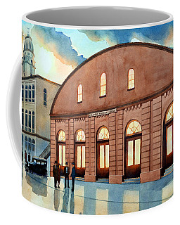 Vintage Color Columbia Market House Coffee Mug