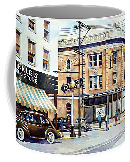 Vintage Color, Hinkle's Coffee Mug