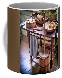 Vintage Farmhouse Butter Churn Coffee Mug
