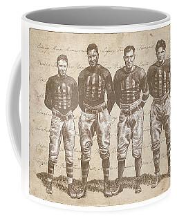 Vintage Football Heroes Coffee Mug