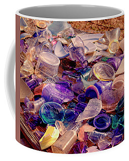 Vintage Glass Coffee Mug