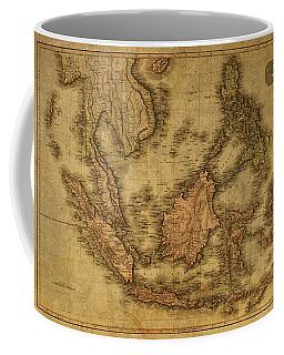 Vintage Map Of Indonesia 1818 Coffee Mug