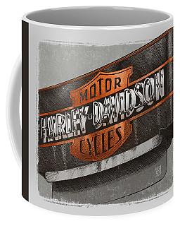Vintage Motorcycle Shop Coffee Mug