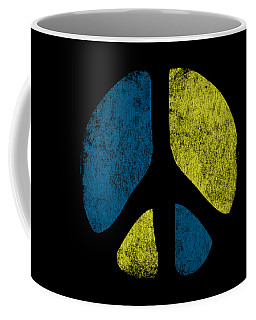 Vintage Peace Sign Coffee Mug