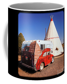 Vintage Volkswagon Beatle Camper  Coffee Mug