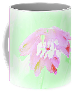 Coffee Mug featuring the photograph Violet Red Islamic Flora by Rockin Docks
