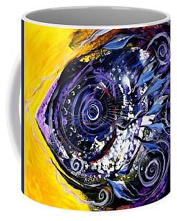 Violet Tri Fish Coffee Mug