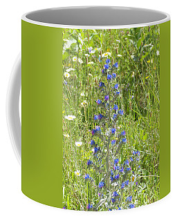 Coffee Mug featuring the photograph Viper's Bugloss by Sally Sperry