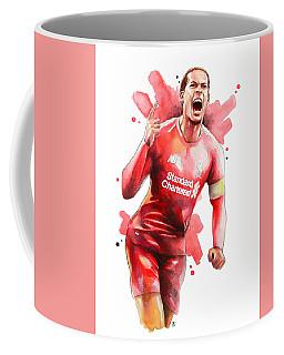 Virgil Van Dijk, Liverpool Coffee Mug