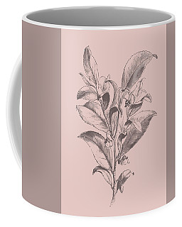 Visnea Mocanera Blush Pink Flower Coffee Mug