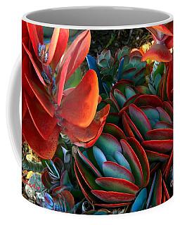 Vivid Paddle-leaf Succulent Coffee Mug