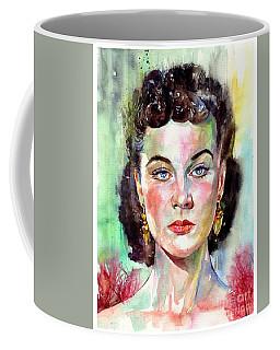 Vivien Leigh Portrait Coffee Mug