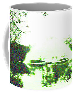 Coffee Mug featuring the digital art Voices Of A Long Lost Civilization by Bee-Bee Deigner