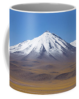 Volcano On The Altiplano Coffee Mug