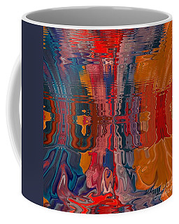 Coffee Mug featuring the digital art Von Freestyle by A zakaria Mami