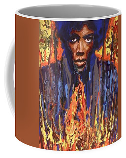 Coffee Mug featuring the painting Voodoo by Blake Emory