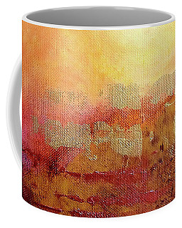 Coffee Mug featuring the painting Vortex Of Light by Valerie Anne Kelly