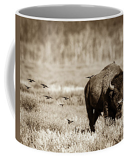 Coffee Mug featuring the photograph Wait For Us by Mary Hone