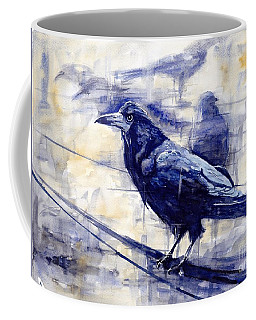 Waiting For The Lonely Train Coffee Mug