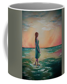 Walk Through Water Coffee Mug