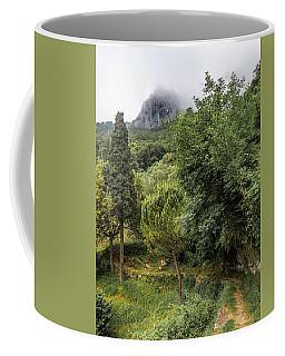Walking Along The Mountain Path Coffee Mug
