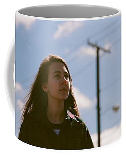 Coffee Mug featuring the photograph Walking by Carl Young