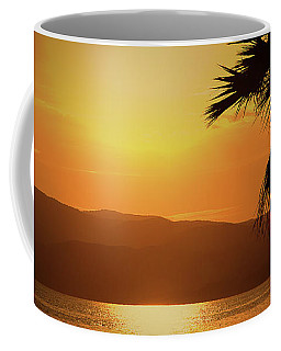 Walking Down The Beach Coffee Mug