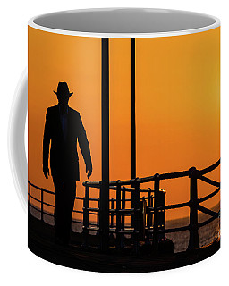 Walking Into The Sunset Coffee Mug