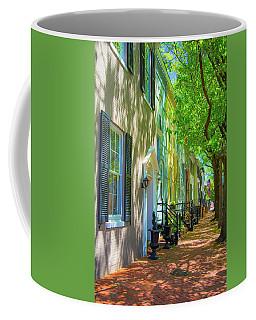 Walking On Duke Street Coffee Mug