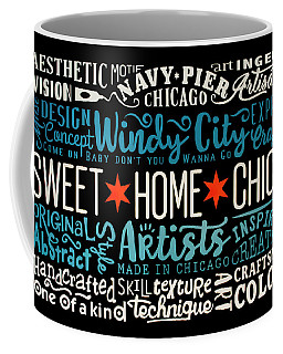 Wall Art Chicago Coffee Mug