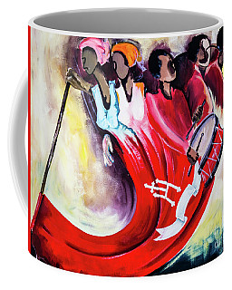 Wall Painting In Fogo, Cape Verde Coffee Mug