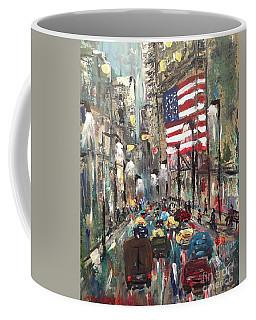 wall street NY Coffee Mug