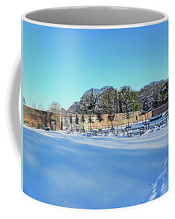 Walled Garden In The Snow Coffee Mug