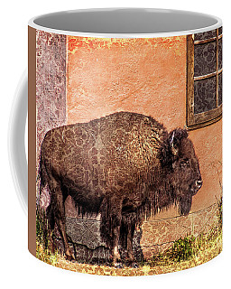 Wallpaper Bison Coffee Mug