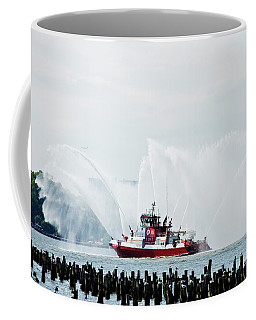 Water Boat Coffee Mug