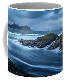Water Flow At Stormy Sea Coffee Mug