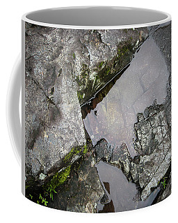 Coffee Mug featuring the photograph Water On The Rocks 2 by Juan Contreras