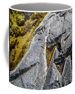 Coffee Mug featuring the photograph Water On The Rocks 8 by Juan Contreras