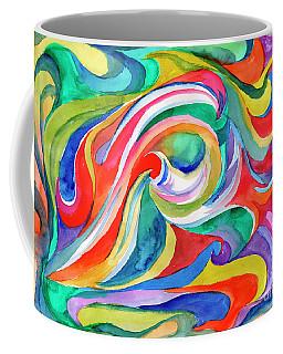 Watercolor's Swirl Coffee Mug