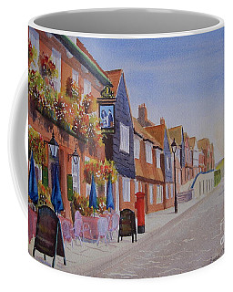 Watercolour Folkestone Harbour Coffee Mug